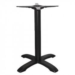 Pied de table en fonte, noir, Bolero BOLERO Pieds de tables