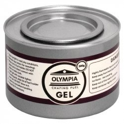 12 X Gel combustible éthanol pour chauffe-plat Olympia 200g OLYMPIA gastro