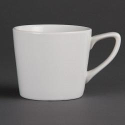Tasse basse à Latte Olympia Blanche 200 ml (boîte de 12) OLYMPIA Tasses