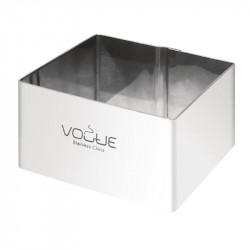 Cercles à mousse carrés Vogue 60 x 60 mm, 35 mm de profondeur VOGUE gastro
