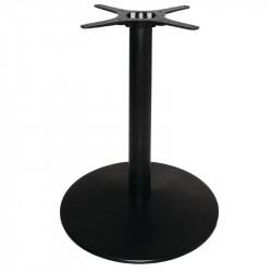Pied de table Ø 550 mm, en fonte, noir, Bolero BOLERO Pieds de tables
