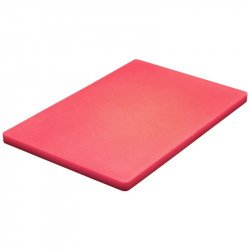 Planche à découper basse densité Hygiplas rouge 300x450x20mm HYGIPLAS Planches à découper