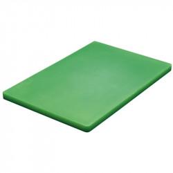 Planche à découper basse densité Hygiplas verte 300x450x20mm HYGIPLAS Planches à découper