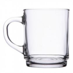 36 x Tasse à thé empilable en verre trempé 25 cl ARCOROC Tasses