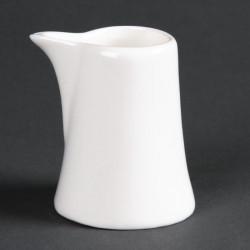 Lot de 12 minis pots à lait Lumina 50ml  LUMINA FINE CHINA Collection Lumina