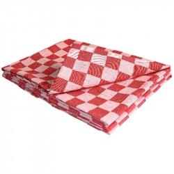 Torchons de cuisine rouges 100% coton VOGUE Nisbets Vêtements