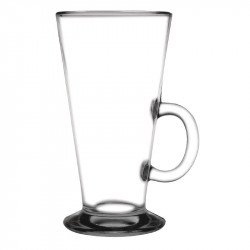 Olympia Toughened Coffee Latte Glass 10oz 285ml (Box 12) OLYMPIA Verrerie