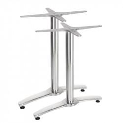 Pied de table double, en aluminium, Bolero BOLERO Pieds de tables