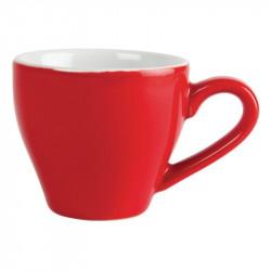 Tasse a espresso Olympia rouge - 100ml (lot de 12) OLYMPIA Tasses