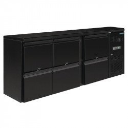 Arrière-bar 6 tiroirs 536 Litres POLAR Arrières-bar