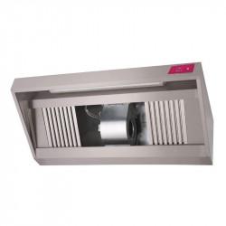Hotte complète P 900 x H 540 mm, inox GASTRO M Hottes