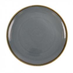 Lot de 4 assiettes Ø280mm plates rondes 'océan' Kiln OLYMPIA Collection Kiln