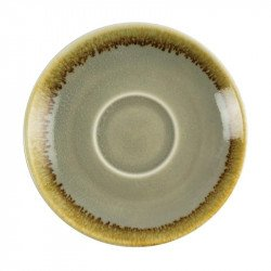 Lot de 6 soucoupes 'mousse' Kiln Ø115mm OLYMPIA Collection Kiln