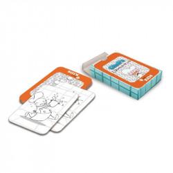 Cartes Memory à colorier 'Hôtel' (lot de 40) DINING KIDS Pour les enfants