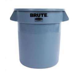 Conteneur 37,9L à déchets, gris RUBBERMAID Poubelles