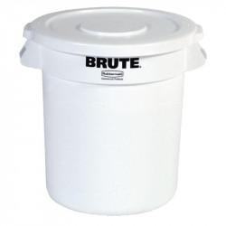 Conteneur 121,1L à déchets, blanc RUBBERMAID Poubelles