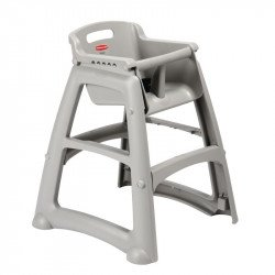 Chaise enfant grise, Rubbermaid RUBBERMAID Chaises