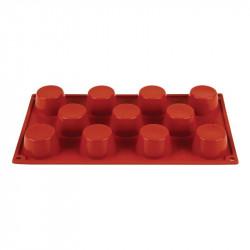 Plaque 11 mini-muffins Pavoni Formaflex silicone PAVONI Moules à pâtisserie souples