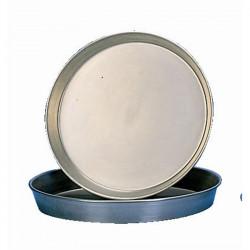 Plaque à pizza en fer noir 25,4 cm EQUIPEMENT DIRECT Plaques à pizza