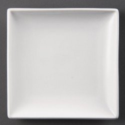 Assiette blanche Olympia carrée 29,5 cm (Box 6) OLYMPIA Assiettes