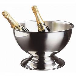 Seau inox à champagne 13.5 Litres, APS APS Seaux à glace
