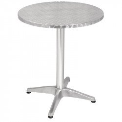 Table ronde Ø 600 mm, inox, Bolero BOLERO Tables