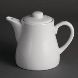 Lot de 4 théières 480 ml - porcelaine  OLYMPIA Collection Whiteware