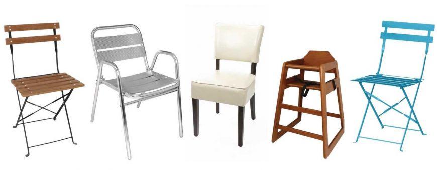 Chaises et fauteuils de restaurants