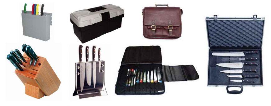 Sacoches et mallettes à couteaux
