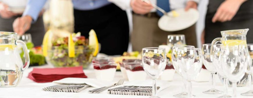 Art de la table, buffet et bar
