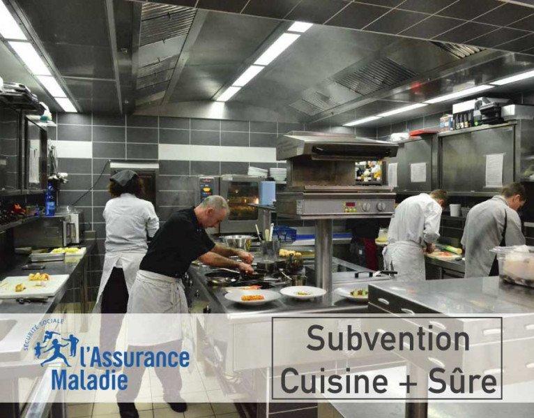 Cuisine + sûre : Une aide financière pour protéger les salariés de la restauration